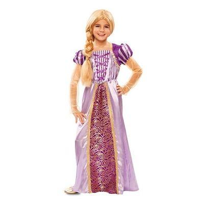 Foto van Rapunzel jurk kind