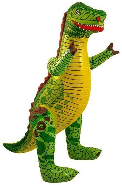 Opblaas Dinosaurus