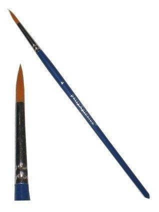 Schmink penseel spits mt. Ø 2.5 mm (4)