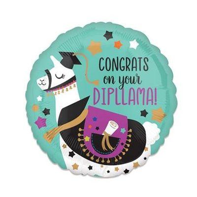Folieballon diploma