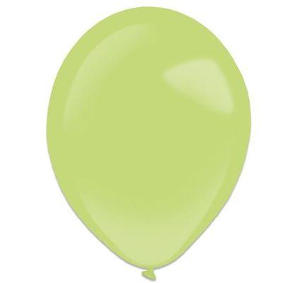 Ballonnen kiwi (28cm) 50st