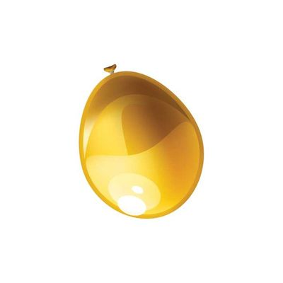 Foto van Ballonnen metallic Goud (30cm) 50st
