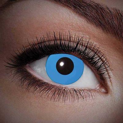 UV blauwe jaarlenzen