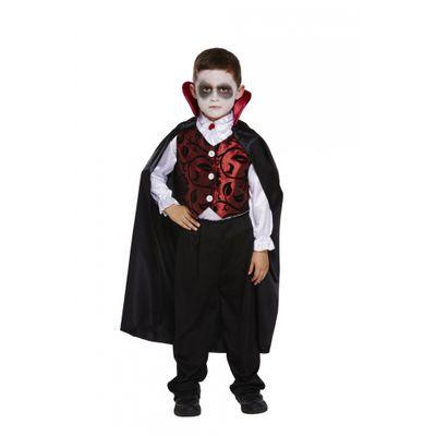 Foto van Dracula kostuum kind