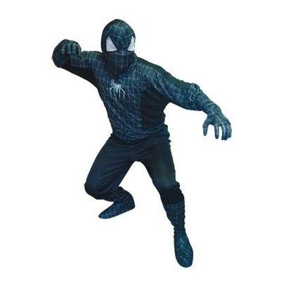 Spiderman kostuum zwart