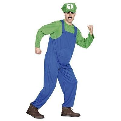 Foto van Luigi kostuum (W)