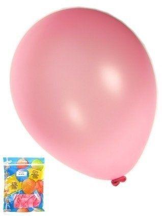 Kwaliteitsballon metallic fuchsia per 50 (Ø 14 inch / 36 cm)