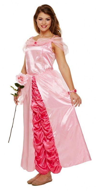 Prinses Peach kostuum