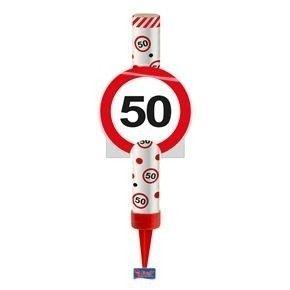 IJsfontein verkeersbord 50 jaar