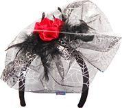 Tiara Zilver Web Roos
