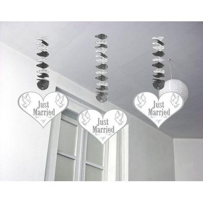 Hangdecoratie Just Married/3