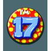 Afbeelding van Button 17 jaar