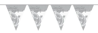 Vlaggenlijn Leve Het Bruidspaar NW