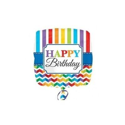 Ballon Folie Happy Birthday