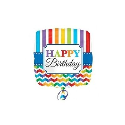 Foto van Ballon Folie Happy Birthday