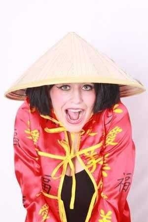 Strohoed chinees (one size)