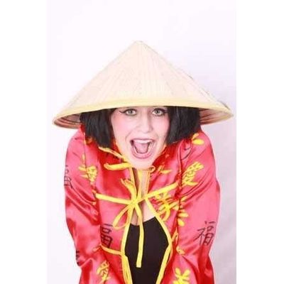 Foto van Strohoed chinees (one size)