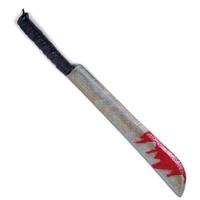 Machette met bloed