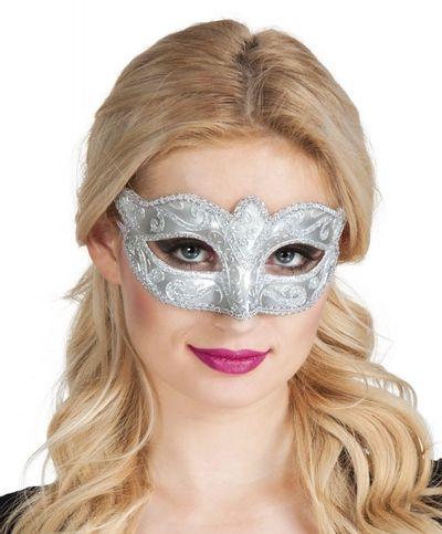 Eye mask Venice felina silver