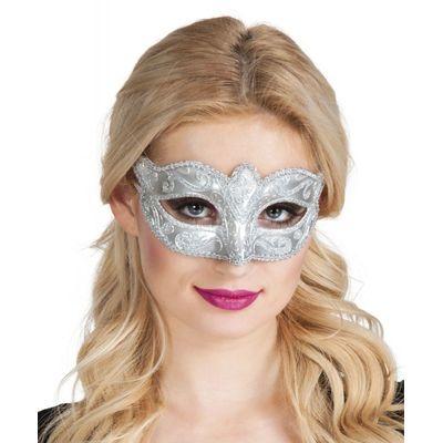 Foto van Eye mask Venice felina silver