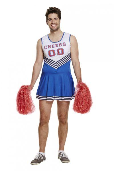 Cheerleader kostuum mannen