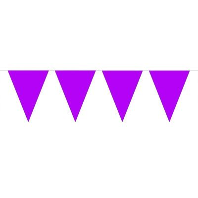Mini Vlaggenlijn Paars /3mtr