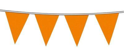 Vlaggenlijn nylon Oranje 10m