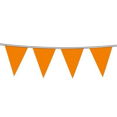 Foto van Vlaggenlijn nylon Oranje 10m