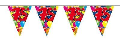 Vlaggenlijn balloons 75 jaar 10M