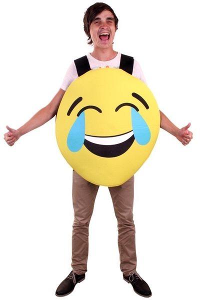Emoticon Lach kostuum