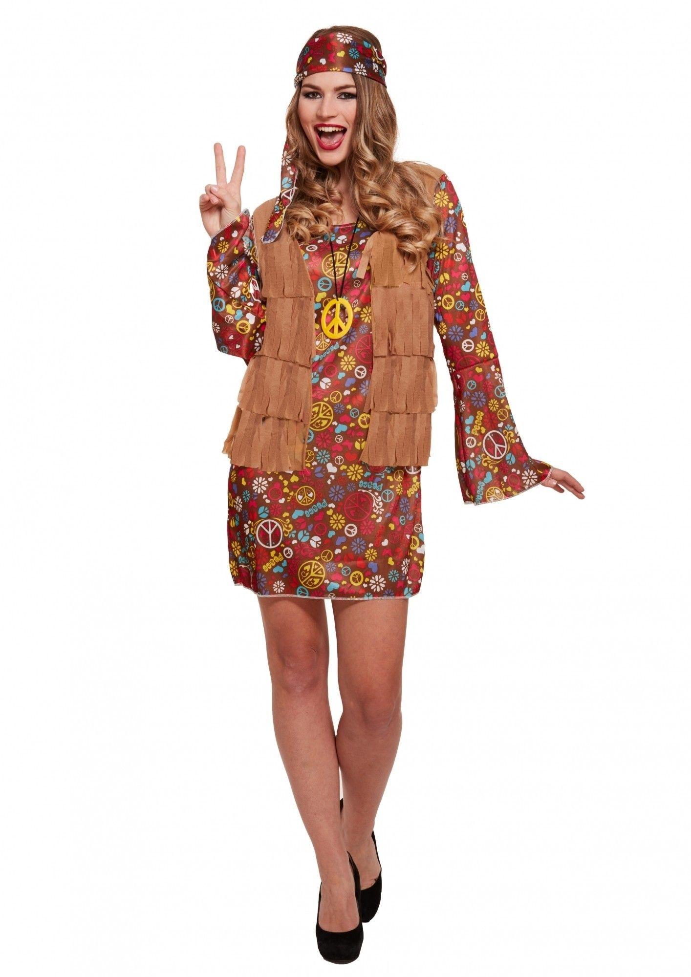 Hippie Jurk Carnaval Kopen Confettifeest Nl