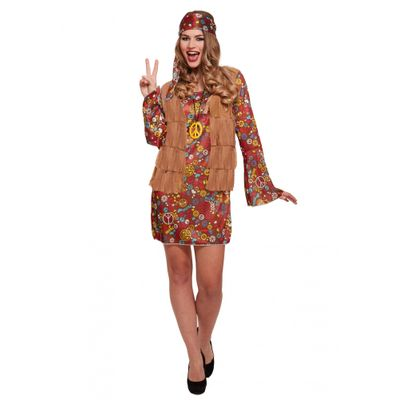 Foto van Hippie jurk carnaval