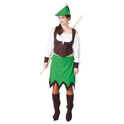 Robin Hood kostuum vrouw