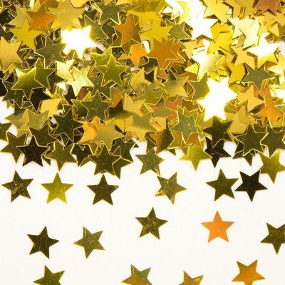 Foto van Tafel Confetti ster goud