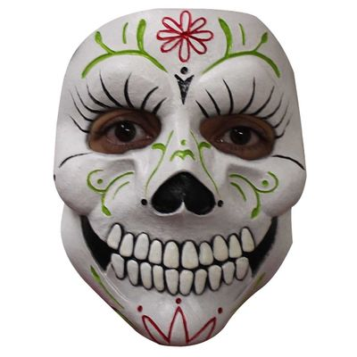 Foto van Day of the death Lady Catrina Masker