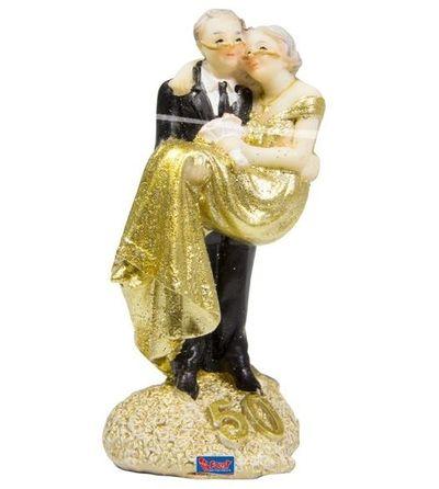 Taartversiering 50-jarig huwelijk