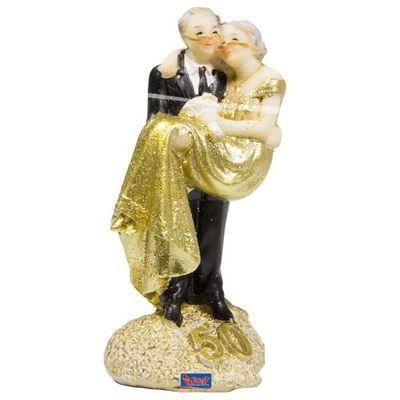 Foto van Taartversiering 50-jarig huwelijk