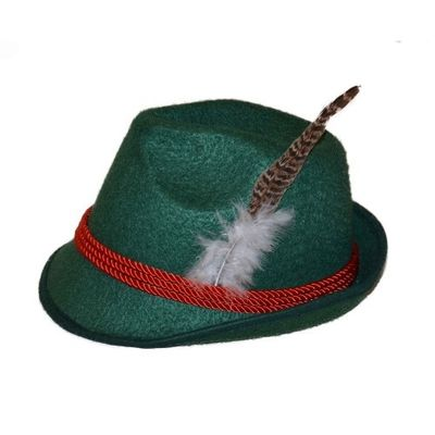 Foto van Bayern Tiroler hoed groen
