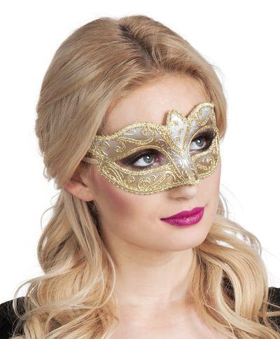 Eye mask Venice felina goud