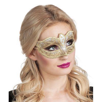 Foto van Eye mask Venice felina goud