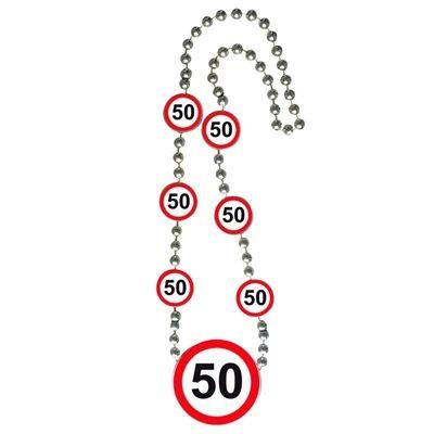 Foto van Ketting Verkeersbord 50 jaar