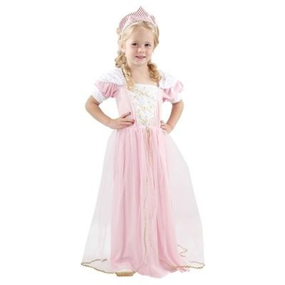 Prinses jurk roze