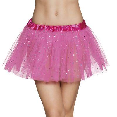 Roze tutu met glitters