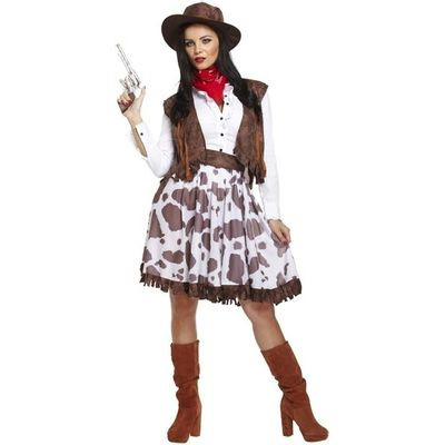 Foto van Cowgirl kostuum