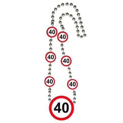 Ketting Verkeersbord 40 jaar