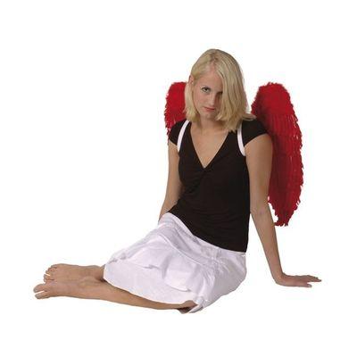 Foto van Engelenvleugels rood (65 x 65 cm)