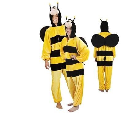 Onesie honingbij volwassenen