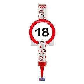 IJsfontein verkeersbord 18 jaar