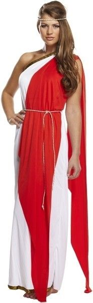 Romeinse toga dame