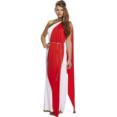 Foto van Romeinse toga dame